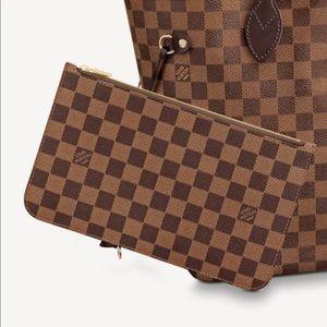 Authentic Louis Vuitton monogram pouch